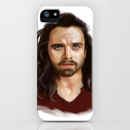 bucky with the good hair iPhone Case