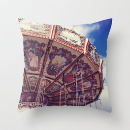 Merry - Go - Round Throw Pillow