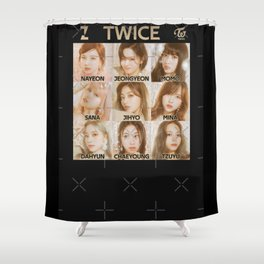 Feel special twice Shower Curtain