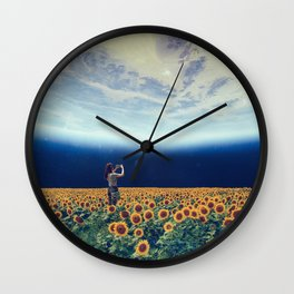 Picture of the world Wall Clock