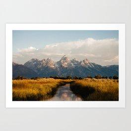 Grand Teton National Park at Sunrise Kunstdrucke
