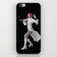 Princess Leia Strikes Back iPhone & iPod Skin