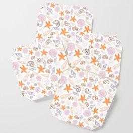 Seashell Print Coaster