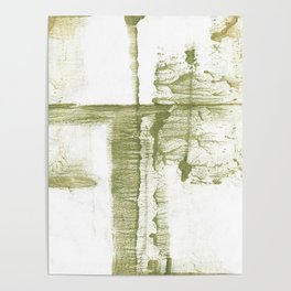 Green abstract Poster