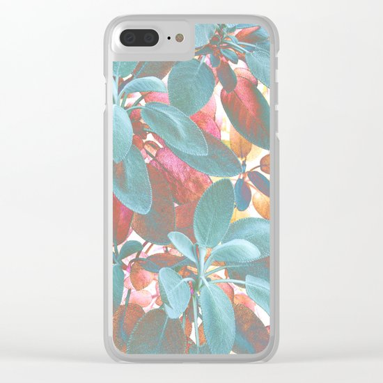 Leaves Wonder Clear iPhone Case