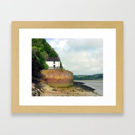 Dylan Thomas.The Boathouse. Framed Art Print