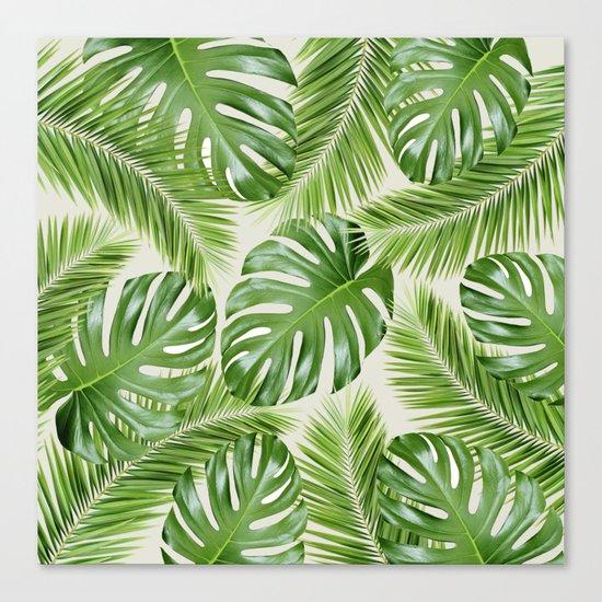 I Need a Tropical Vacation Print Canvas Print