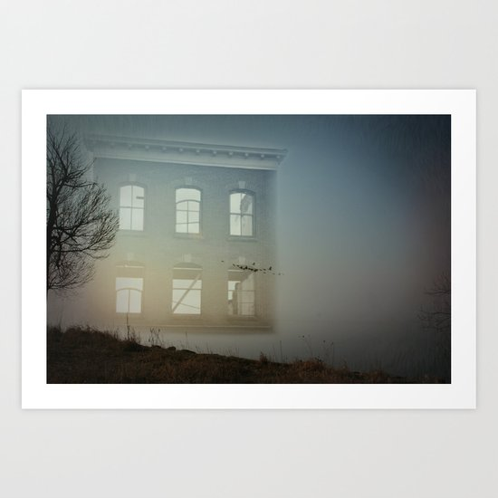 House of Empty Art Print