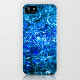 Water Color - Dark Blue - Navy iPhone Case