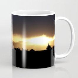 Sunbeams Streaking Across The Valley Coffee Mug