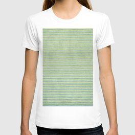 Green Lines - Acessórios e Moda Cor Sólida T-shirt