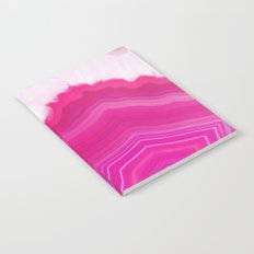 Pink Agate Slice Notebook