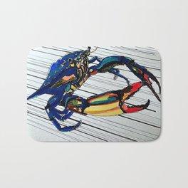 Maryland blue crab Bath Mat