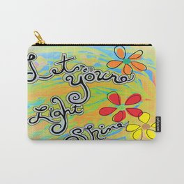 Let Your Light Shine Matthew 5:16 Carry-All Pouch