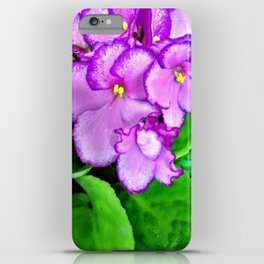 Roses are red, Violets are purple iPhone Case