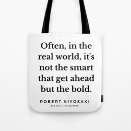 44 |  Robert Kiyosaki Quotes | 190824 Tote Bag