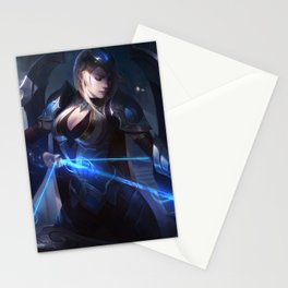 Championship Ashe League of Legends Stationery Cards