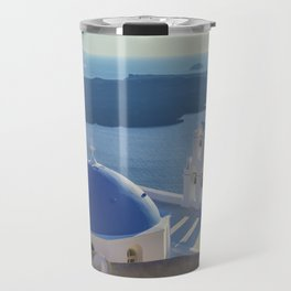 Santorini Island, Greece Travel Mug