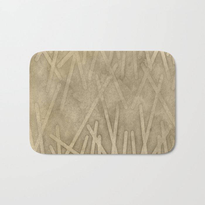 sand geode  - Bath Mat