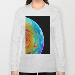 Rainbow Half Sphere (Color) Long Sleeve T-shirt