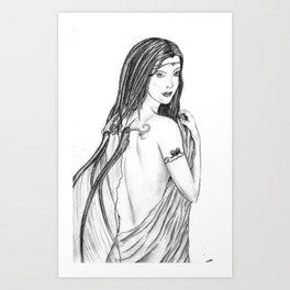 Innocent Seduction of the Fae Art Print