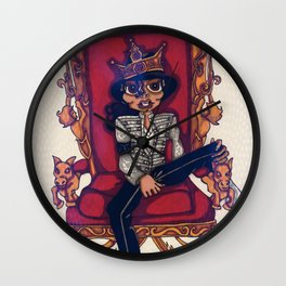 King Of Pop Wall Clock