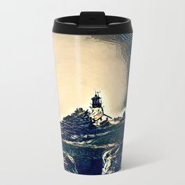 A Light In The Tempest Travel Mug