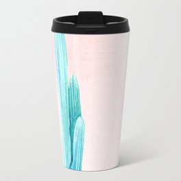 Desert Cactus Rose Gold Sun Travel Mug