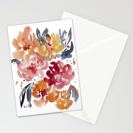 Blooming in the Fall Stationery Cards