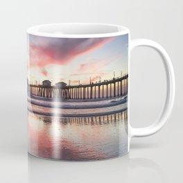 HB Sunset  12-22-18 Coffee Mug