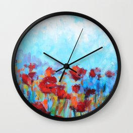 Garden of Delights Wall Clock
