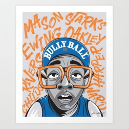 90's Bully Ball Art Print