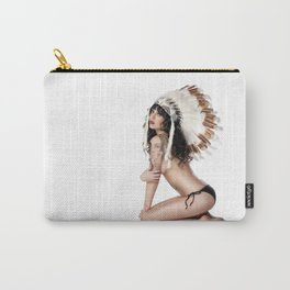 Jenny in Headdress Carry-All Pouch