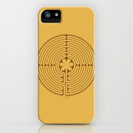 Chartres Labyrinth iPhone Case