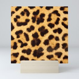 Leopard Pattern Mini Art Print