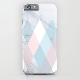 Diamond Peaks on Marble iPhone Case