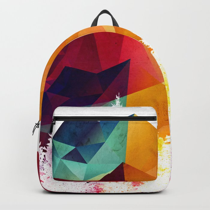 Forest made of color Backpack
