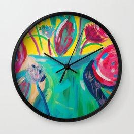 The Vase Wall Clock
