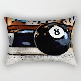 Shooting For The Eight Ball Rectangular Pillow