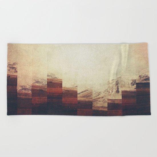 Fractions A90 Beach Towel