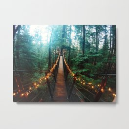 Capilano Suspension Bridge Metal Print