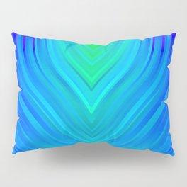 stripes wave pattern 3 std Pillow Sham