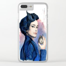 Miss Peregrine Clear iPhone Case
