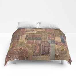 Etched Metal Patchwork Comforters