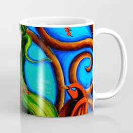 Emerald Mermaid  Coffee Mug