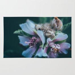Melancholic flowers Rug