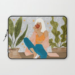 Boss Lady #illustration #painting Laptop Sleeve
