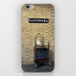 Platform 9 3/4  iPhone Skin