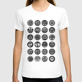 Circular Motifs T-shirt