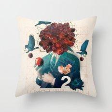 fructum caput Throw Pillow